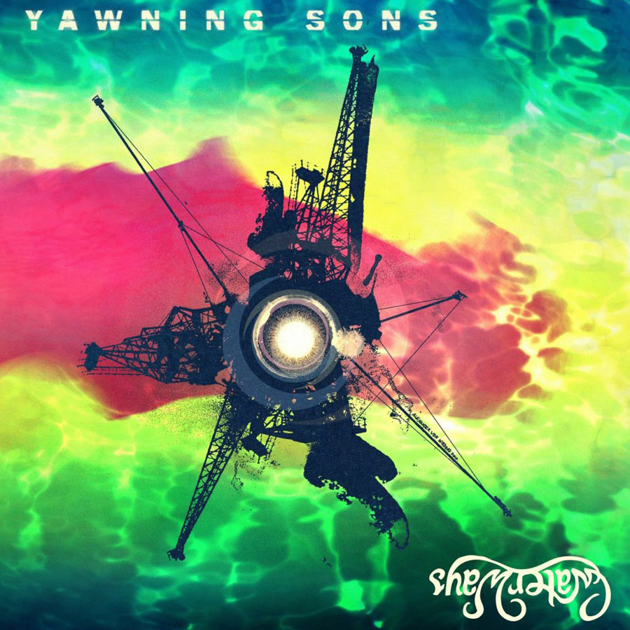 "Yawning Sons - Garden Sessions I Split 7"" Vinyl"